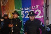 PNC allana sede de organización convocante de Manifestación LGBTIQ+
