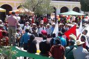 Huehuetenango manifiesta contra Estado de Sitio